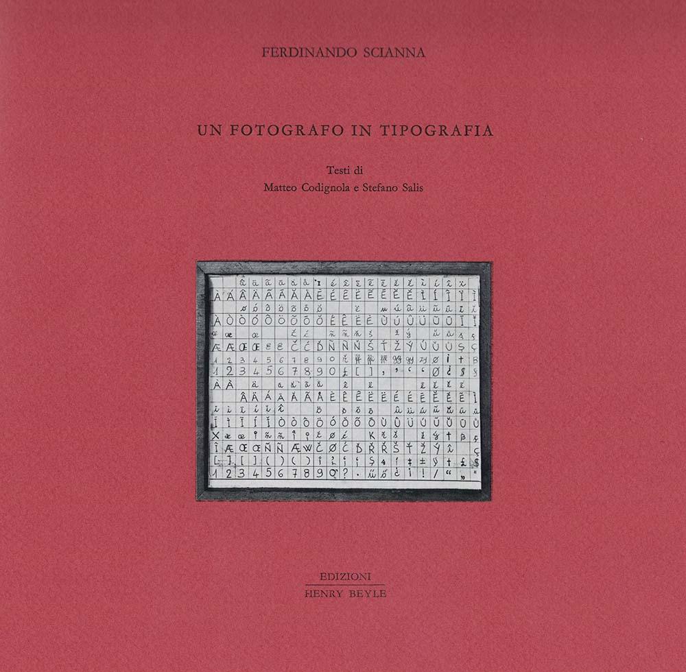 Un fotografo in tipografia