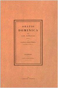 Oratio dominica (rist. anast. 1806)